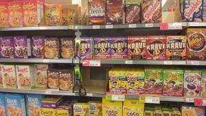 unhealthy breakfast cereals