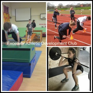 Excelsior athletes in action
