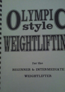 Jim schmitz weightlifting book