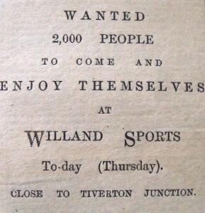 Willand sports 1899