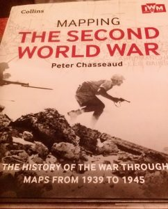 mapping the second world war