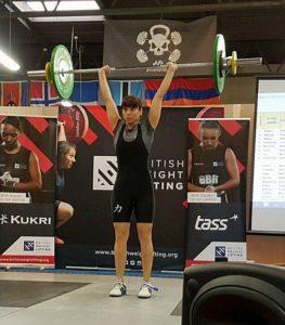 weightlifting competition devon