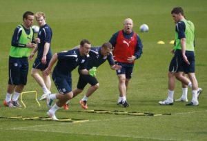 football speed test