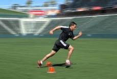 football speed training