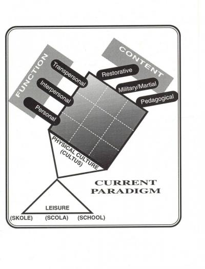 current physical education paradigm