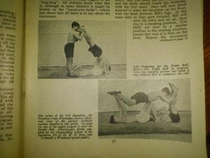 gymnastics triple roll
