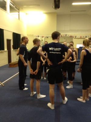 gymnastics posture