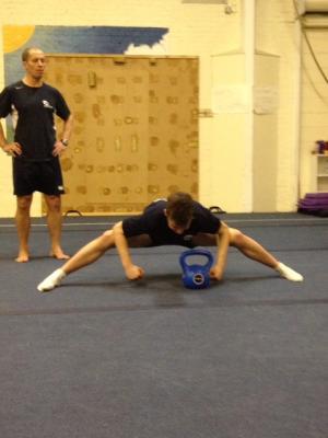 gymnast flexibiity