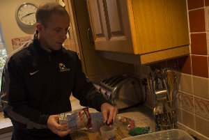 healthy eating at christmas for an athlete