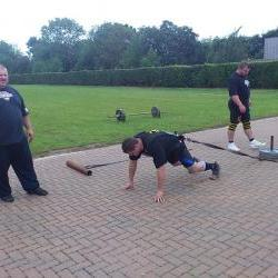 strongman exercise