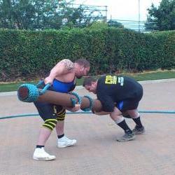 log wrestle