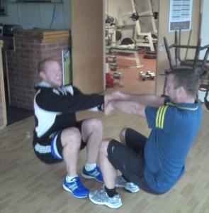 weight training warm up