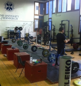 Weight lifting club devon