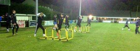 pre season football drills